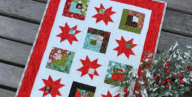 Starry Way Table Runner Pattern