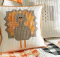 Gobble Gobble Turkey Pillow Cover Pattern