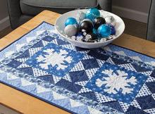 Snowflake Table Runner Pattern