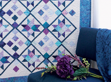 Berry Berry Blue Quilt Pattern