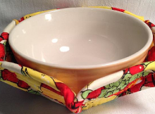 Microwave Bowl Cozy Pattern
