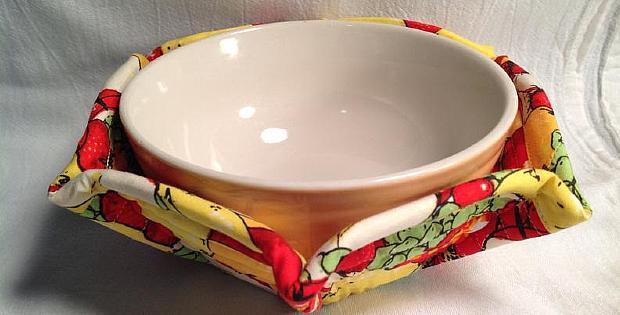 Microwave Bowl Cozy Pattern
