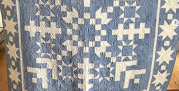 Jelly Snowflake Quilt Pattern