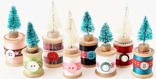 Make Charming Decorations from Wooden Spools