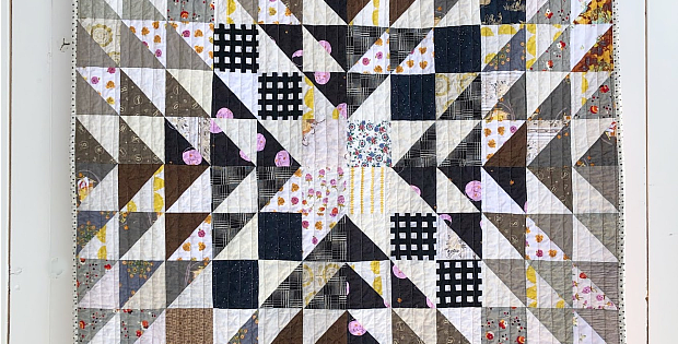 Create a Striking Quilt from Scraps