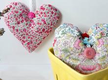 Heart Sachet Pattern