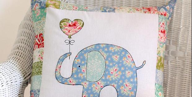 Ella The Elephant Pillow Pattern