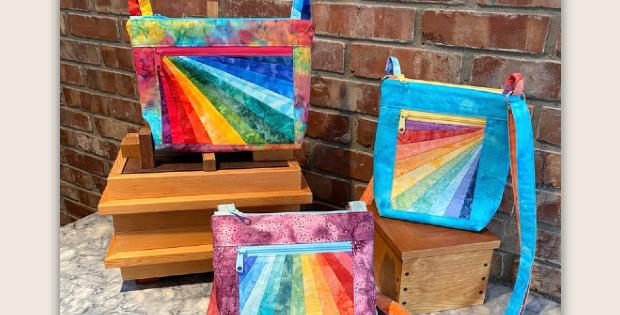 Julicita Rainbow Crossbody Bag Pattern