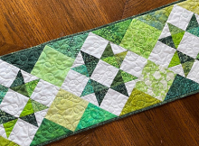 Lucky Charm Table Runner Pattern