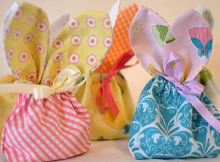 Bunny Treat Bags Pattern