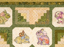 Garden Bunnies Quilt Pattern