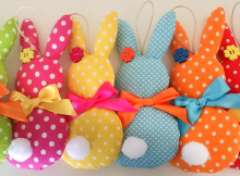 Hanging Rabbit Sewing Pattern