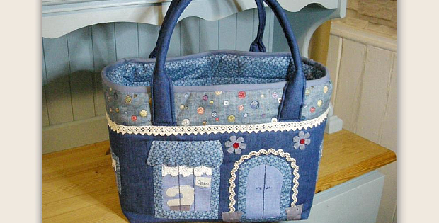 The Raggy Caddy Sewing Bag Pattern