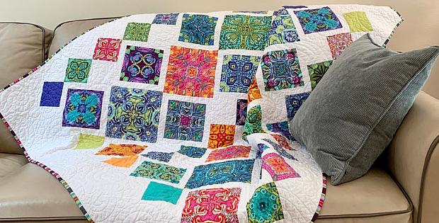 Fiesta Tiles Quilt Pattern