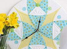Quilt Clock Pattern