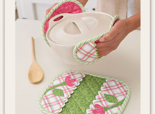 Pincher Pot Holders Sewing Pattern