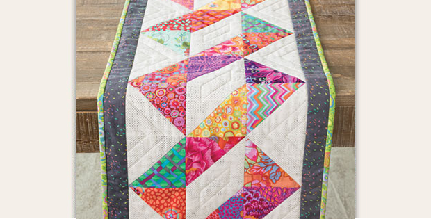 Twisted Table Runner Quilt Pattern