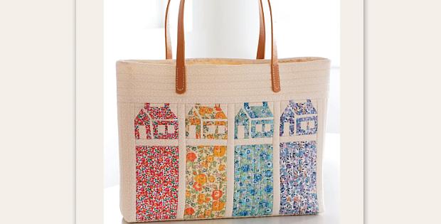 Pretty Lawns Bag Pattern