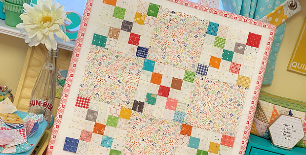Penny Candy Quilt Block