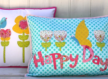 Happy Days Pillow Set Pattern