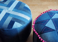 Put Your Feet Up Pouffe Pattern