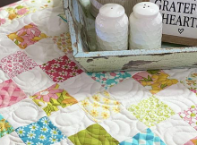 Mini Patchwork Quilt Pattern