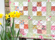 Spring Nine Patch Quilt Pattern