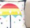 Rainbow Umbrella Pillow Tutorial