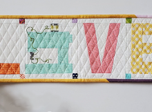 Love to Sew Mini Quilt Pattern