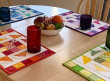 Kaleidoscope Quilted Placemat Pattern