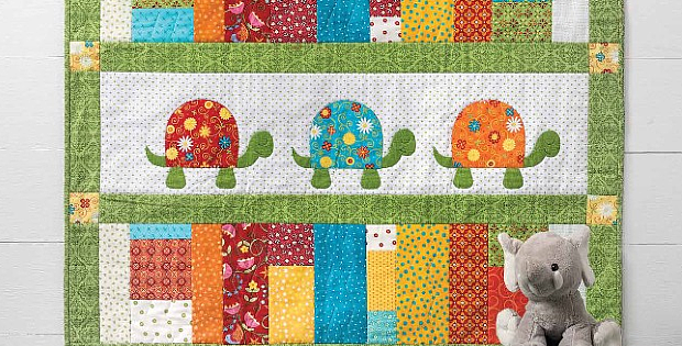 Turtle Trot Quilt Pattern