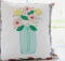 Mason Jar Flower Vase Pillow Tutorial