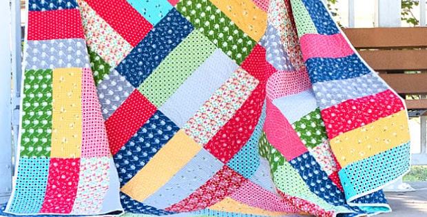 Half Yard Jam Short Cut Quilt Pattern