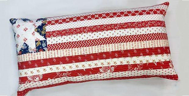 Stripes, Stars and Flags Pillow Patterns