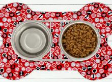 Dog Bowl Placemat Pattern