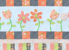 Poppin' Posies Quilt Pattern