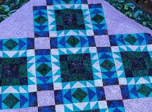 Tidepools Quilt Pattern