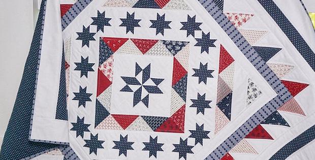 Stars and Stripes Celebration Quilt Pattern