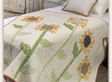 Scrappy Sunflowers Quilt Pattern