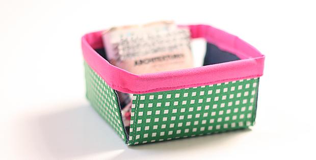 Fabric Berry Basket Tutorial
