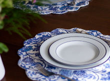 Double-Sided Scalloped Placemats Pattern