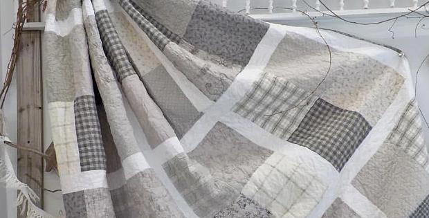 Beachy in Grey Quilt Pattern