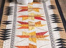 Come Little Leaves Table Runner Pattern