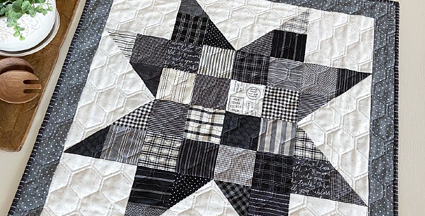 Charm Star Quilt Pattern