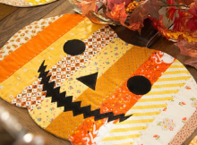 Halloween Jack-o-Lantern Pumpkin Placemats