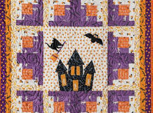 Haunted House Quilt Pattern