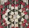 Fabric Folded Wreath Tutorial