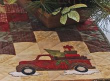 Vintage Truck Table Runner Pattern