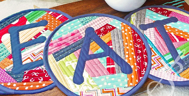 Too Hot to Handle Quilted Potholder Pattern